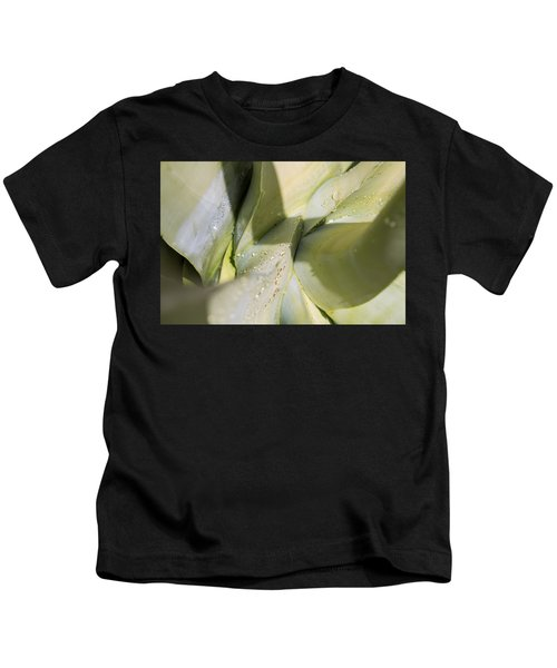 Giant Agave Abstract 3 Kids T-Shirt