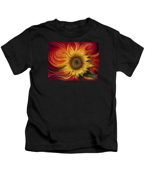 Girasol Dinamico Kids T-Shirt