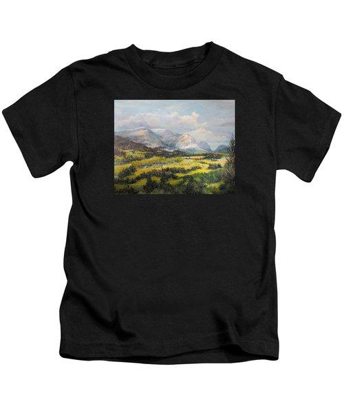 Glacier Splendor Kids T-Shirt