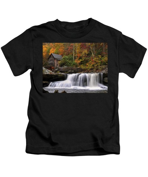 Glade Creek Grist Mill - Photo Kids T-Shirt