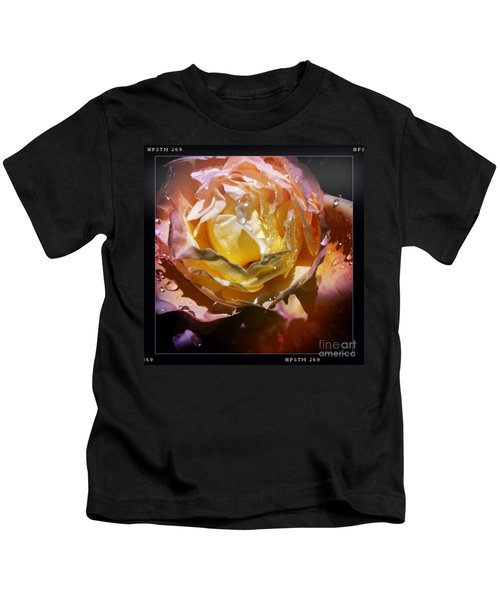 Glistening Rose Kids T-Shirt