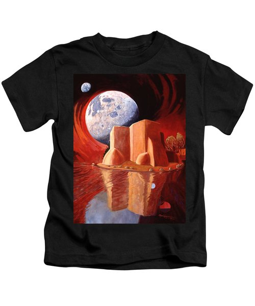 God Is In The Moon Kids T-Shirt