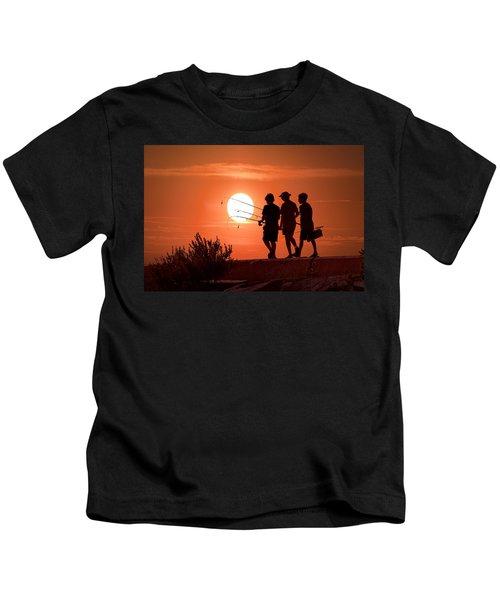 Going Fishing Kids T-Shirt
