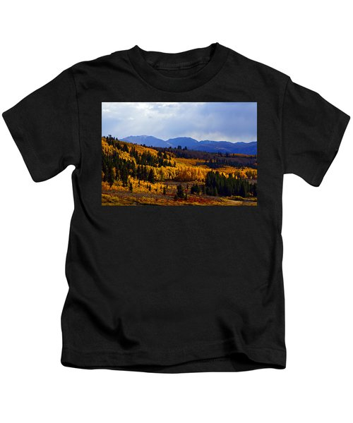 Golden Fourteeners Kids T-Shirt