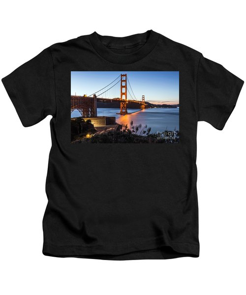 Golden Gate Night Kids T-Shirt