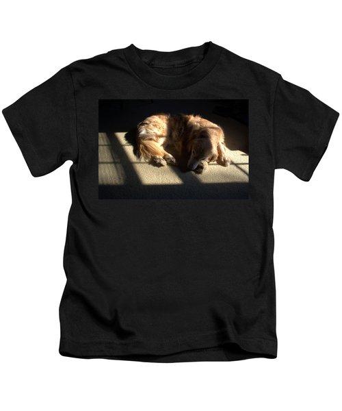 Golden In Sunlight Kids T-Shirt