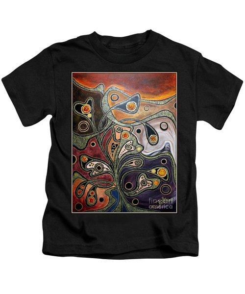 Golden Thought Kids T-Shirt