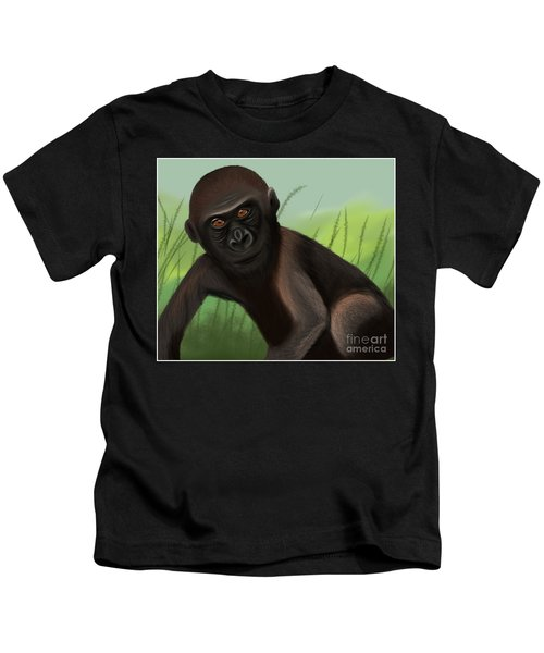Gorilla Greatness Kids T-Shirt