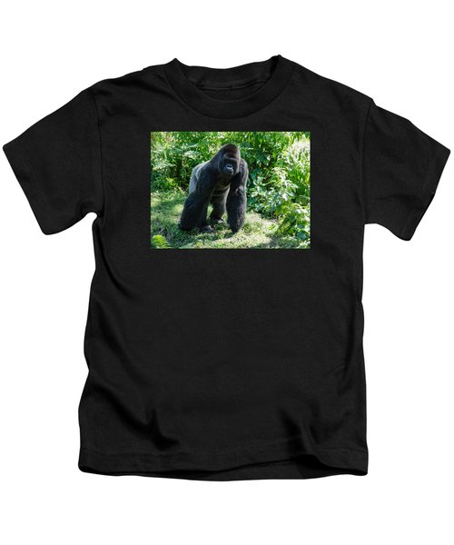 Gorilla In The Midst Kids T-Shirt