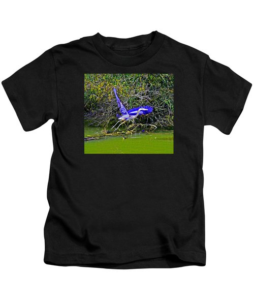 Gr8 Heron Flight Kids T-Shirt