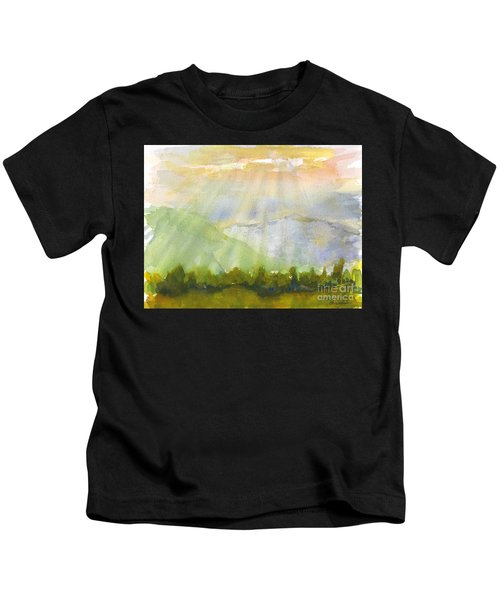 Grandma Cohen Rays Kids T-Shirt
