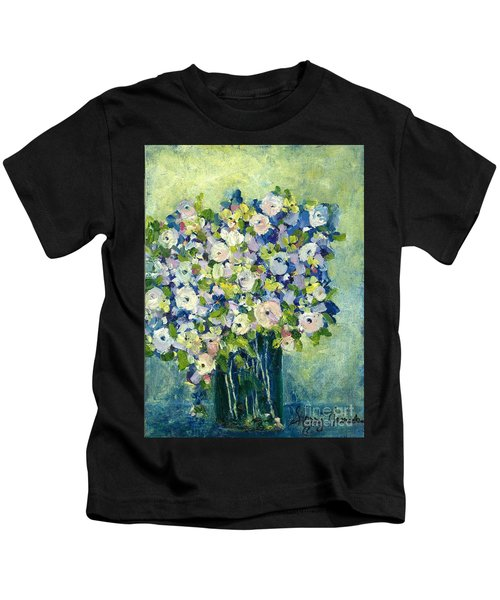 Grandma's Flowers Kids T-Shirt