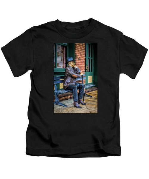 Grapevine Cowboy Kids T-Shirt