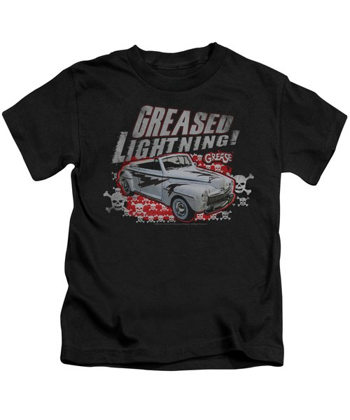 Grease - Greased Lightening Kids T-Shirt