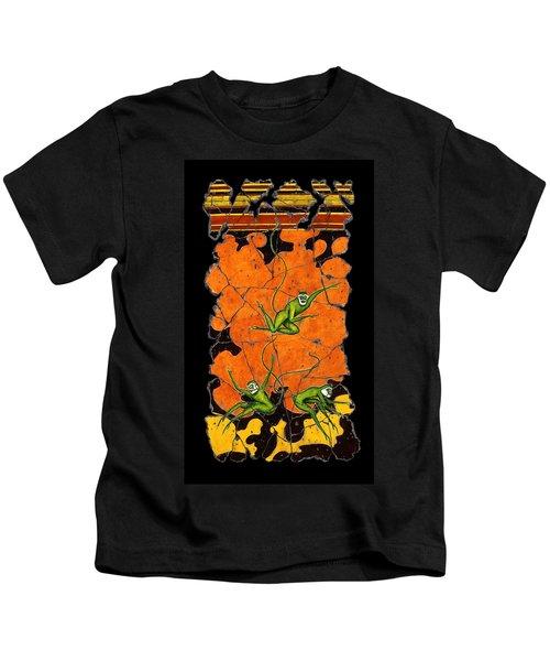 Green Monkeys No. 4 Kids T-Shirt