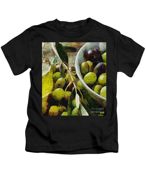 Green Olives Kids T-Shirt