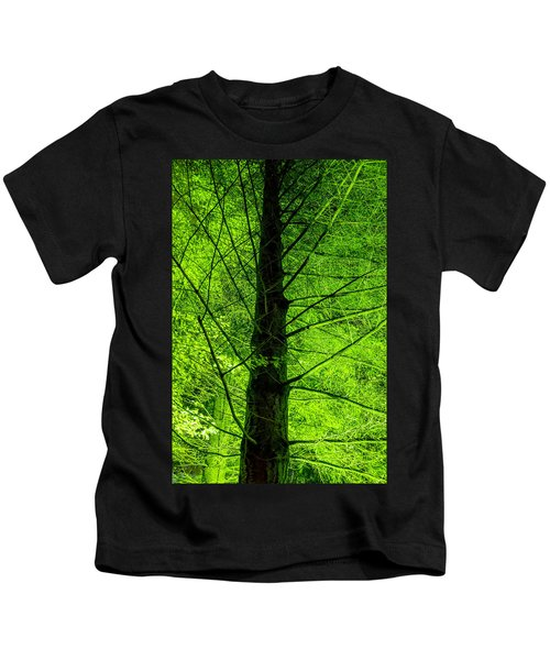 Green On Green Kids T-Shirt