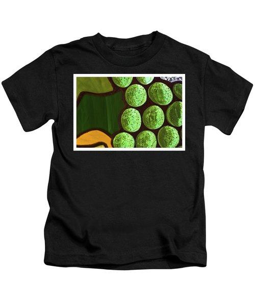 Green Yellow Kids T-Shirt