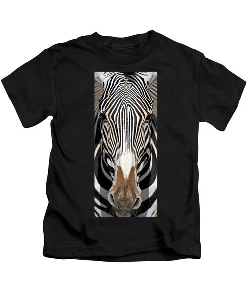 Greveys Zebra, Samburu National Kids T-Shirt