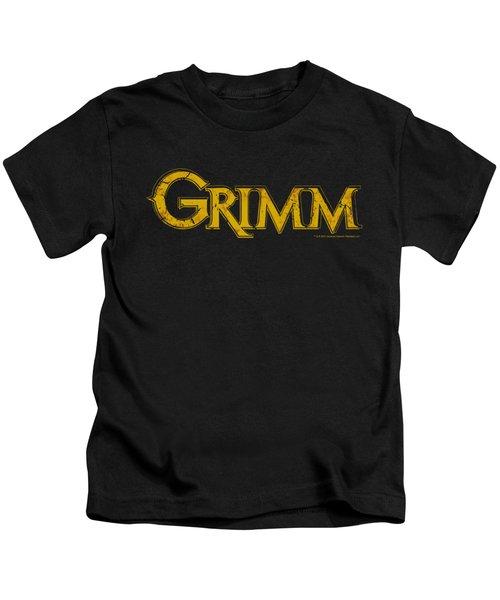 Grimm - Gold Logo Kids T-Shirt