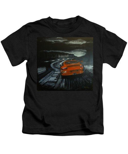 Gt3 @ Le Mans #2 Kids T-Shirt