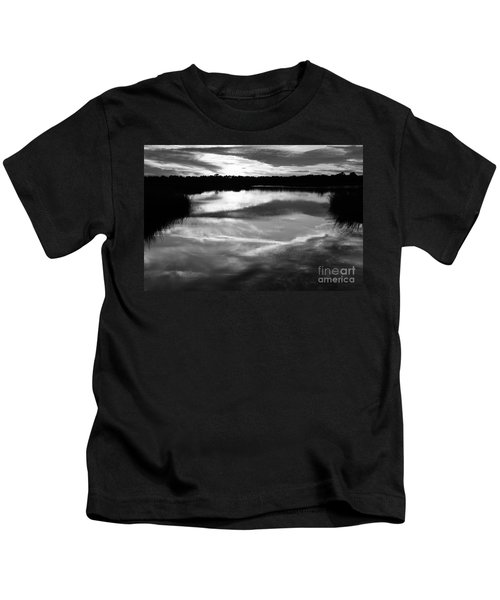 Guana Beach Reflections Kids T-Shirt