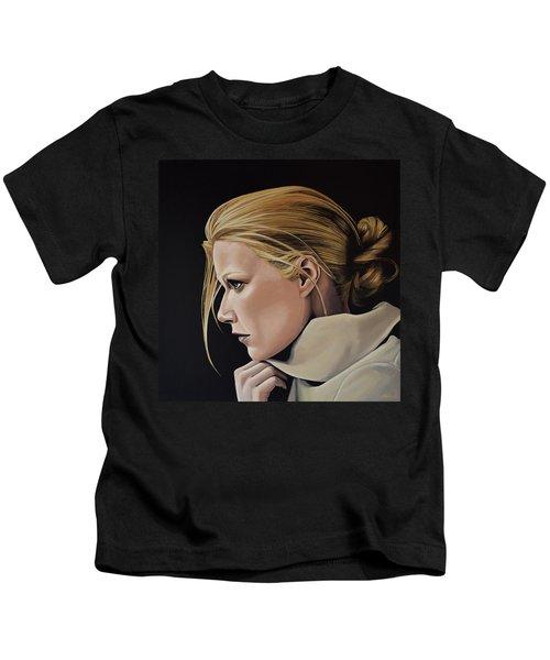 Gwyneth Paltrow Painting Kids T-Shirt