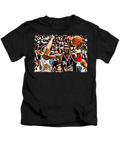 Hakeem Olajuwon Kids T-Shirt