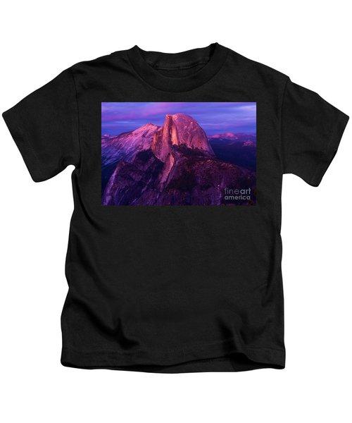 Half Dome Glow Kids T-Shirt