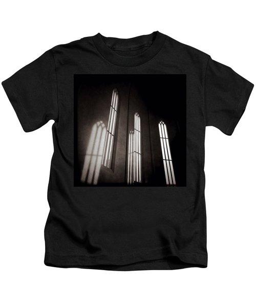Hallgrimskirkja Windows Kids T-Shirt
