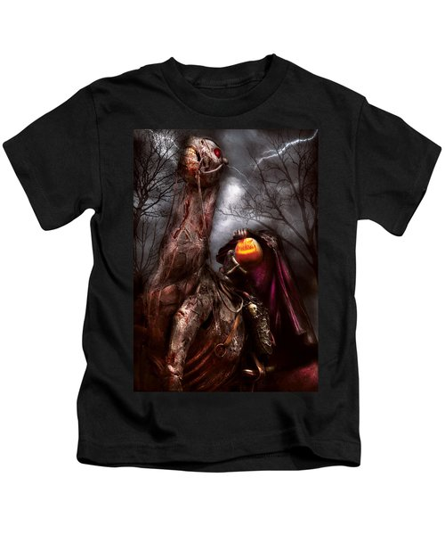 Halloween - The Headless Horseman Kids T-Shirt