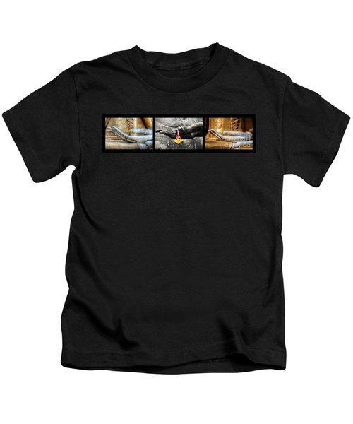 Hands Of Buddha Kids T-Shirt