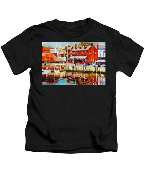 Harborfront Tavern Kids T-Shirt