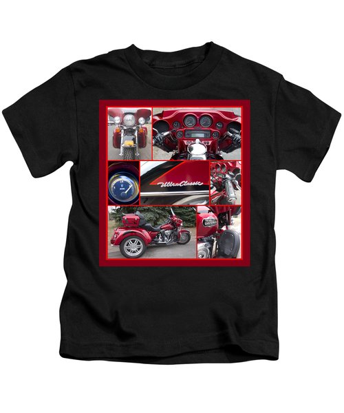 Harley Davidson Ultra Classic Trike Kids T-Shirt