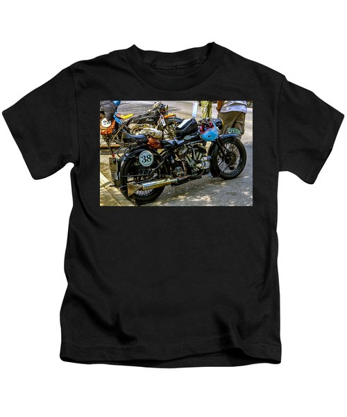 Harleys And Indians Kids T-Shirt