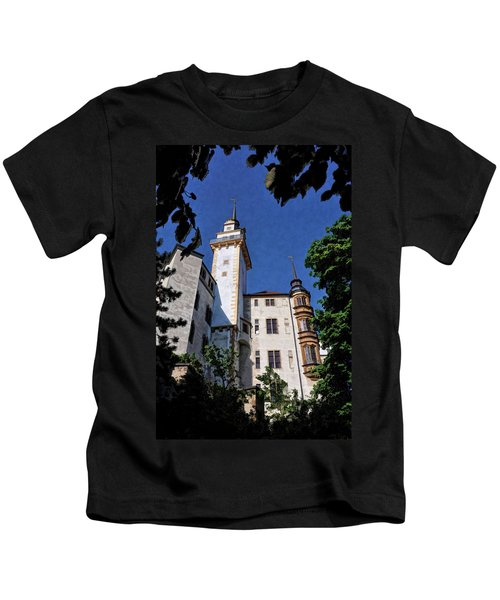 Hartenfels Castle - Torgau Germany Kids T-Shirt
