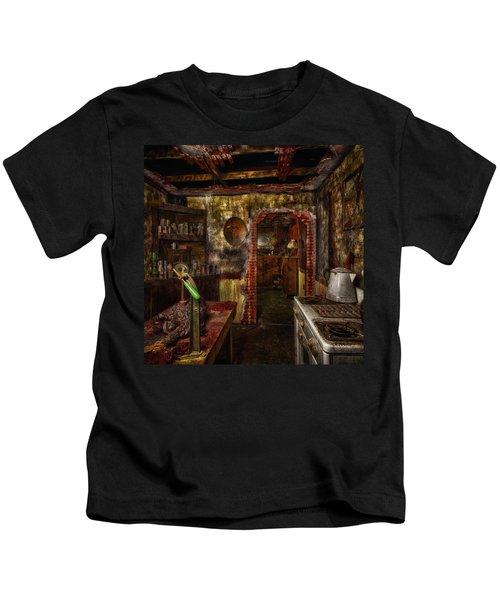 Haunted Kitchen Kids T-Shirt