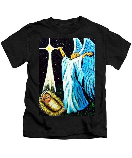 He Is Here Kids T-Shirt