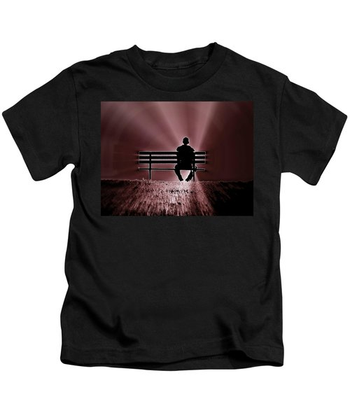 He Spoke Light Into The Darkness Kids T-Shirt