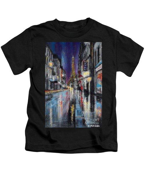 Heart Of Paris Kids T-Shirt