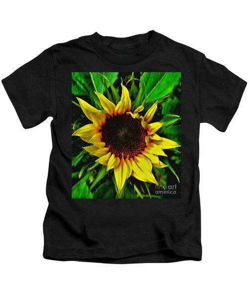 Helianthus Annus - Sunnydays Kids T-Shirt