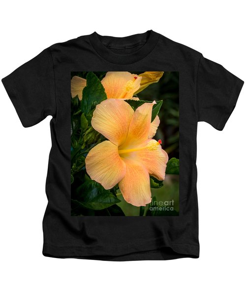 Hibiscus Flower Kids T-Shirt