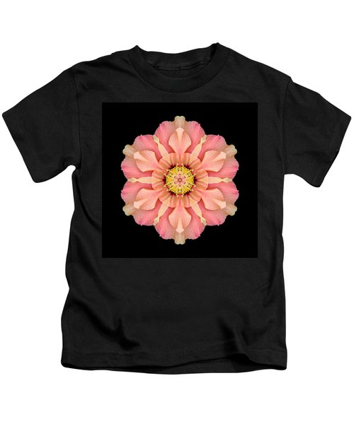 Hibiscus Rosa-sinensis I Flower Mandala Kids T-Shirt