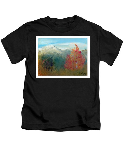 High Country View Kids T-Shirt