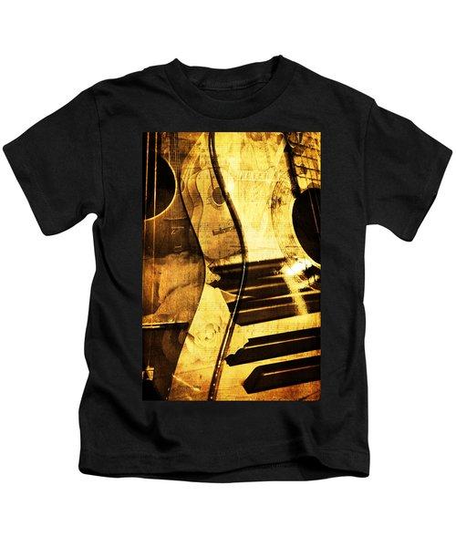 High On Music Kids T-Shirt