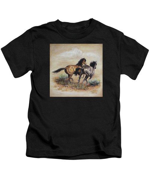 High Tailin' It Kids T-Shirt
