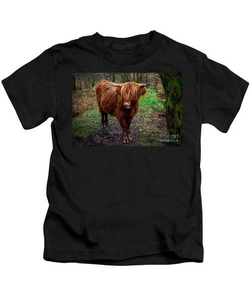 Highland Beast  Kids T-Shirt