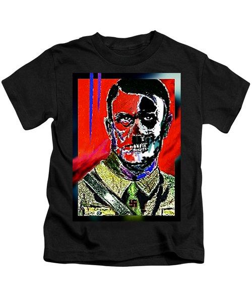 Hitler  - The  Face  Of  Evil Kids T-Shirt