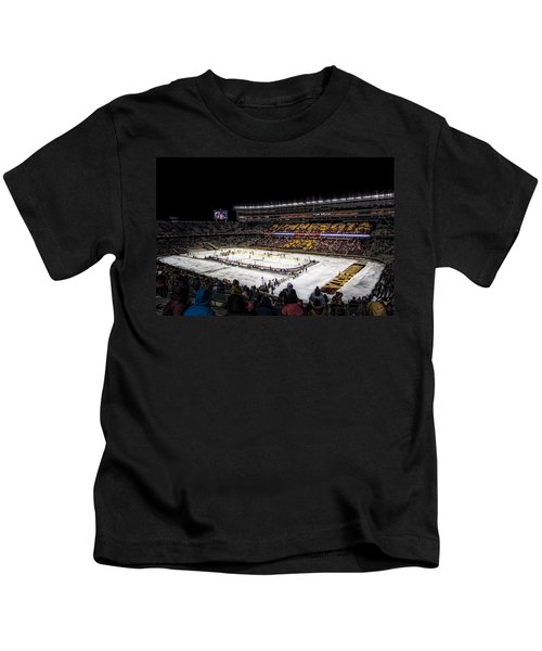 Hockey City Classic Kids T-Shirt by Tom Gort