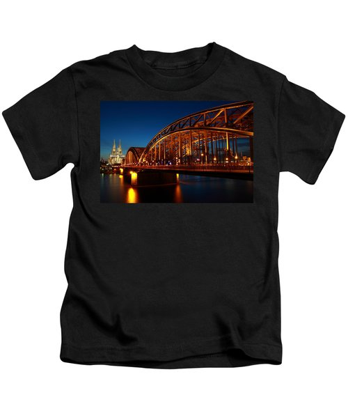 Hohenzollern Bridge Kids T-Shirt